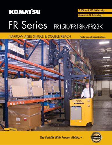 Narrow Aisle: FR50 Series - Single Reach