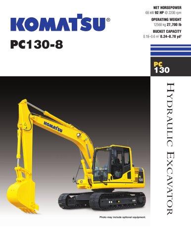 PC130-8