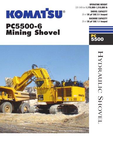 PC5500-6 Shovel