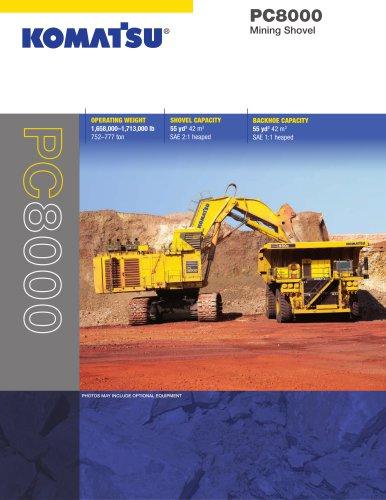 PC8000 Shovel
