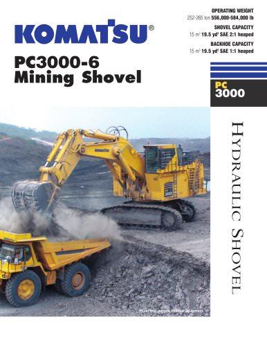Shovels PC3000-6 Shovel