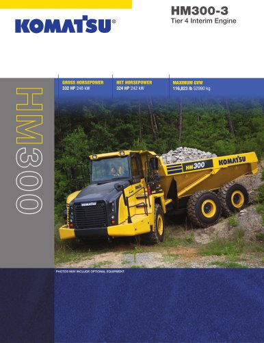 Trucks HM300-3