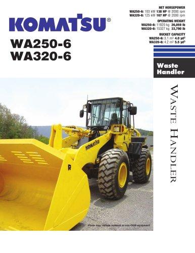 Waste Handling Loaders WA250