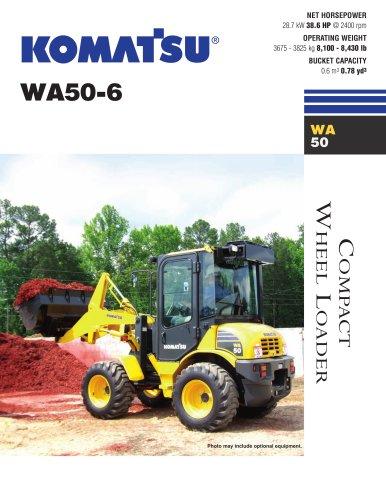 Wheel Loaders WA50-6