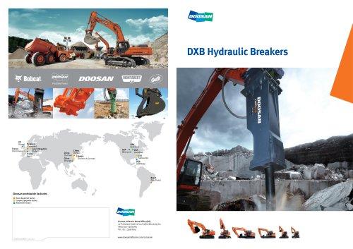 DXB Hydraulic Breakers