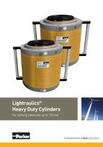 Lightraulics® Heavy Duty Cylinders For working pressures up to 700 bar
