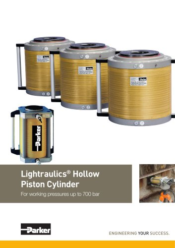 Lightraulics® Hollow Piston Cylinders