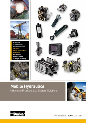 Mobile Hydraulics Innovative Products and System Solutions