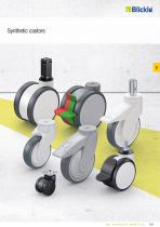 Synthetic castors