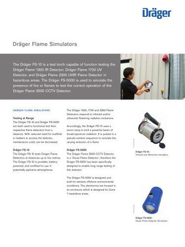 Dräger Flame Simulators