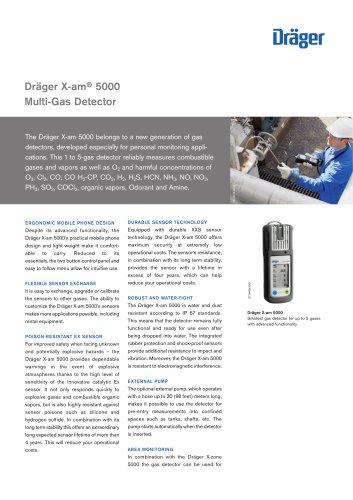 Dräger X-am ® 5000