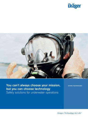 Safety solutions for underwater operations