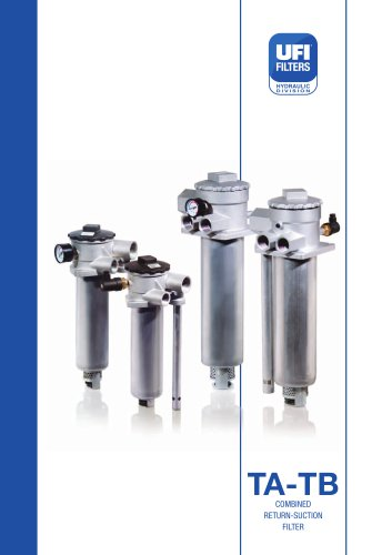 TA-TB COMBINED RETURN-SUCTION FILTER