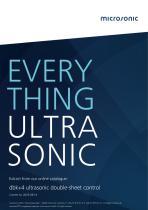 dbk+4 ultrasonic double sheet control
