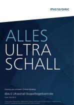 dbk+5 ultrasonic double sheet control
