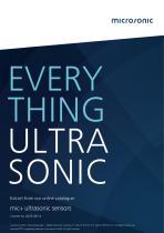 microsonic mic+ capteurs à ultrasons