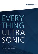 sks ultrasonic proximity switch