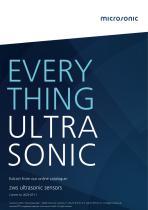 zws ultrasonic sensors