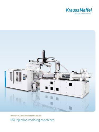 MX injection molding machines - Krauss-Maffei Berstorff