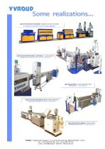 Extrusion lines
