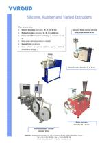 silicone, rubber and varied extruders