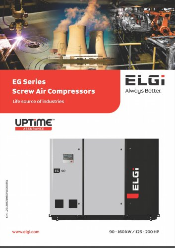 EG Series Screw Air Compressors 90-160kW