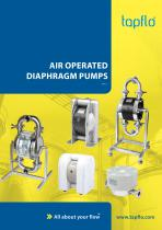 AIR OPERATED DIAPHRAGM PUMPS - 1