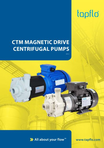 CTM MAGNETIC DRIVE CENTRIFUGAL PUMPS