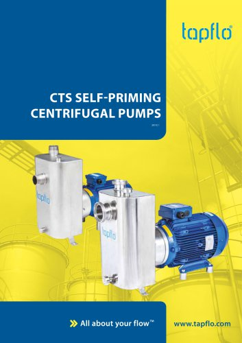CTS SELF-PRIMING CENTRIFUGAL PUMPS