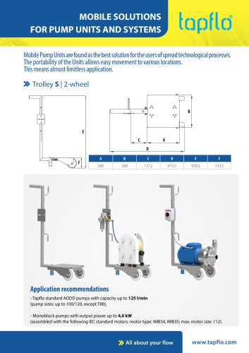 MOBILE SOLUTIONS FOR PUMP UNITS AND SYSTEMS