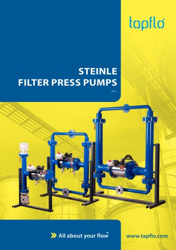 Steinle Filter Press Pumps