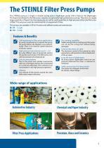 Steinle Filter Press Pumps - 3