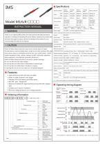 Ultra Small M5, M6, M8 Photoelectric Sensor