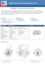 CENO 2 Channel Coaxial Rotary Joint RCN0208A - 1