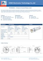 CENO 3 Channel RF Rotary Joint RCN0303A - 1