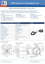 CENO Air Rotary union integrated Ethernet slip ring QCN0101-12P-14S-01UA-01EM - 1