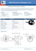 CENO Anti-explosion Slip Ring ECN-EX-04P - 1