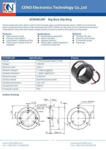 CENO Big Bore Slip Ring ECN300-24P