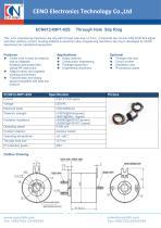 CENO CANBUS slip ring ECN012-09P1-02S - 1