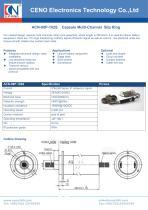 CENO Capsule multi channel slip ring ACN-08P-102S - 1