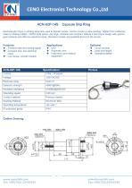 CENO Capsule Slip Ring ACN-02P-14S - 1