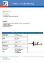 CENO Capsule Small Size Slip Ring ACN22A - 1