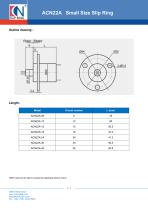 CENO Capsule Small Size Slip Ring ACN22A - 2