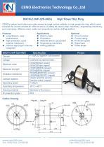 CENO Carbon brush slip ring transfer Ethernet signal BHCN-C-04P-32S-04EG
