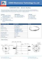 CENO Ethernet capsule slip ring ECN000-05P1-01EG - 1