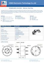 CENO Ethernet slip ring 1000Mbps ECN000-04P2-13S-01EG - 1