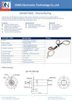 CENO Ethernet Slip Ring ACN-04P1-02EG - 1