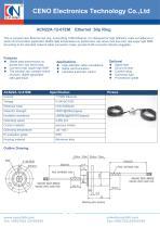 CENO Ethernet slip ring with diameter 22mm ACN22A-12-01EM - 1