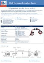CENO Ethernet slip ring ECN000-26P2-02P-08S-01EM - 1
