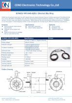 CENO Ethernet slip ring ECN025-10P2-04S-02EG - 1
